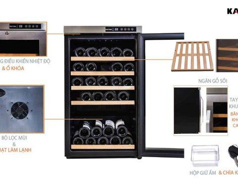Top 5 mẫu tủ rượu quầy bar đẹp nhất 2021
