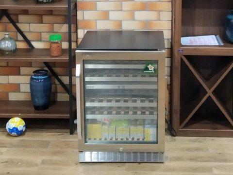 Chia sẻ 3 mẫu tủ ướp rượu Kadeka quầy bar tốt nhất 2021